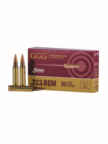 Amunicja kaliber .223Rem Sierra Bullet